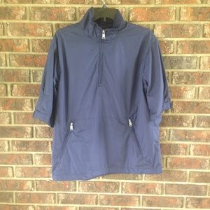 Polo Golf Short Sleeve Windbreaker Size Medium